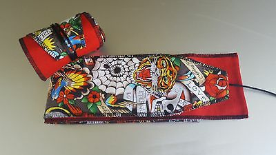 Ed Hardy Wrist Wraps Crossfit Weightlifting Oly Strength Training