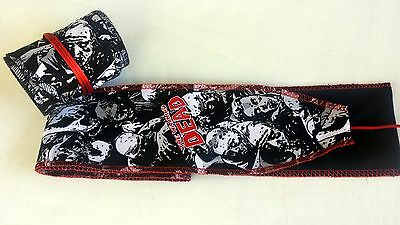 Walking Dead Zombie Wrist Wraps Crossfit Weightlifting Oly Strength Training