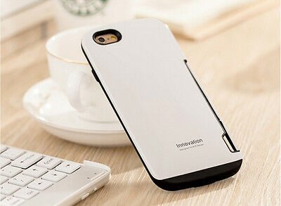 Smart Silicone Case with Card Slots for Apple iPhone 6/6s and Plus