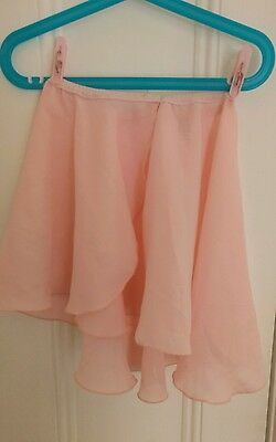 bloch girl tutu skirt size Medium pink