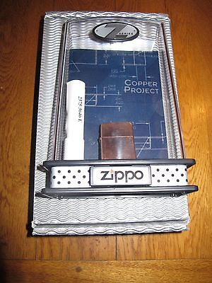 Zippo Z-series Copper Project 2002 édition limitée