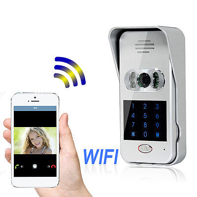 Home Security Wireless Wifi Remote Video Camera Phone Visual Intercom Door Bell