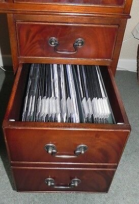 Filing Rail Kit for Leather Top Wooden Desk Box Drawers
