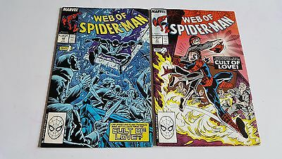 The Web of Spider-Man Issues #40 and #41 - Marvel Comics