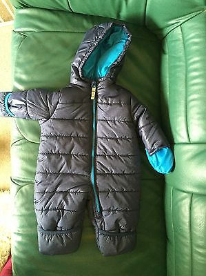 Carters Snow Suit 6-9 Months. Baby Boy, Navy Blue