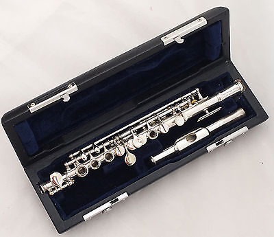 Antique Couesnon&Cie Paris 4641 Silvered Piccolo in C - complete restored