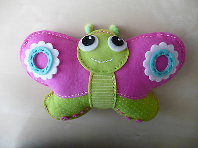 Handstitched Butterfly approx 28cm wide - Free Postage