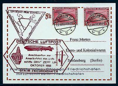 Pay 1/2 The Marked Price,germany,graf Zeppelin 1933 To Berlin,l2.deusche Luftpo-