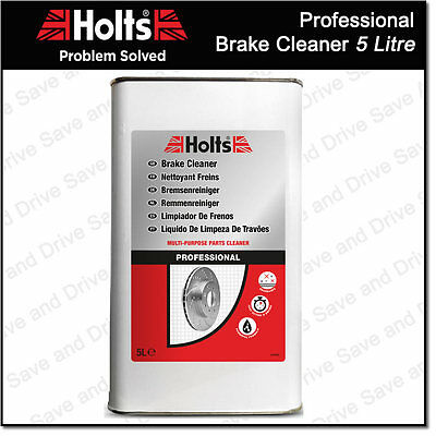 Holts Professional Brake Clutch & Parts Cleaner Degreaser 5 Litre 100% Solvent