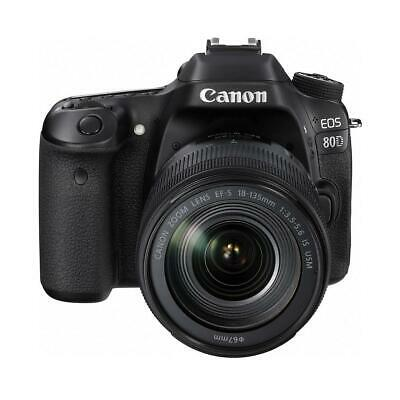 Canon EOS 80D DSLR with EF-S 18-135mm f/3.5-5.6 IS USM Lens #1263C006