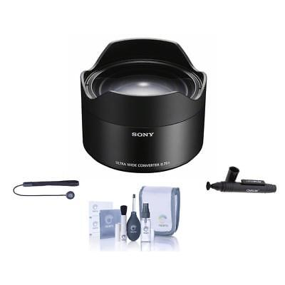Sony Ultra Wide Conversion Lens for FE 28mm F2 w/Free Accessory Bundle