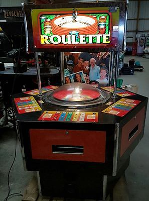 Whittaker Brother Roulette 6 Player 2p Arcade Coin Machine Fully Working Game