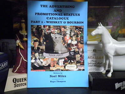 NOEL MILES  Advertising And Promotional Statues Catalogue WHISKY WHISKEY BOURBON