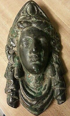 Antique Lady Liberty Americana Columbia Architectural Salvage AAFA Authentic