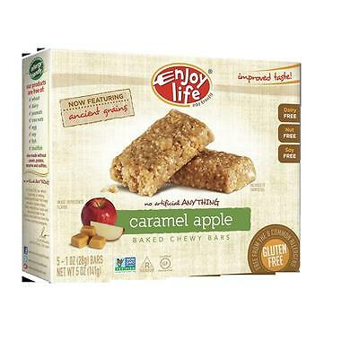 Enjoy Life Foods 35677 Caramel Apple Snack Bar Gluten Free