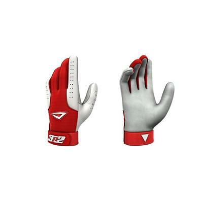 3N2 3810-3506-YM Pro Gloves, Red And White Young Medium