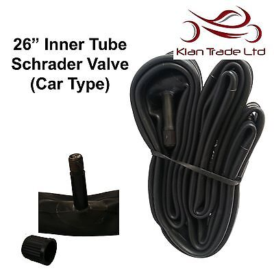 "26"" Inch Bicycle Inner Tube Schrader Valve Mountain Bike Tyre MTB 1.75-2.125"