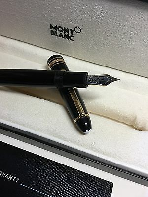 Montblanc Meisterstuck Legrand 147 Traveller Fountain With Box And Ink