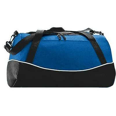 Augusta 1910A Tri-Color Sport Bag, Royal Blue All