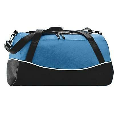 Augusta 1910A Tri-Color Sport Bag, Columbia Blue All