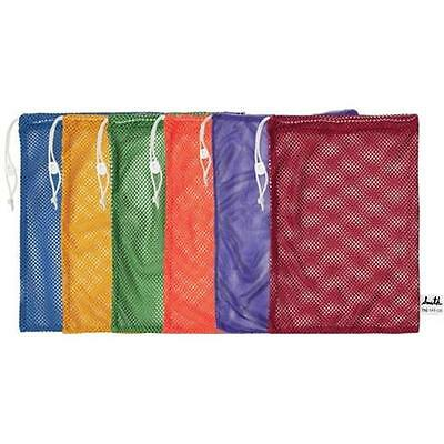 Olympia Sports BC102P 48 in. x 24 in. Mesh Bags Set of 6 Colors