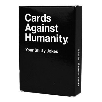 Cards Against Humanity Your Shitty Jokes Expansion NEW