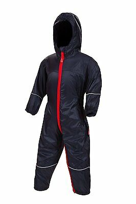 Target Dry Little Nipper Waterproof Rainsuit, Navy, Size 6-12 Months