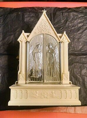 Vintage Raylite Electric Corp Musical Electric Light Cathedral Church Mfg NY