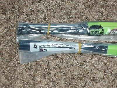 "2 Rod Building Wrapping Rainshadow Forecast RX6 F864-4 8'6"" 4pc 4wt Fly blank"