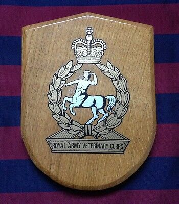 Army Wall Plaque -Royal Army Veterinary Corps