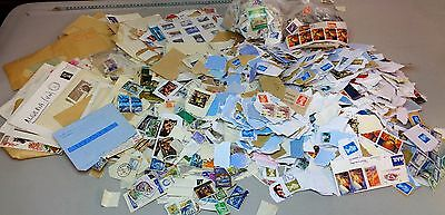 Large Bulk Lot Of Unsorted British And World Stamps - Approx 1.5KG