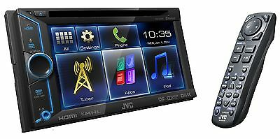 """JVC AUTORADIO 2 DIN KW-V30BT Bluetooth Tactil Touchscreen 6.1"""" Android iOS DVD"""