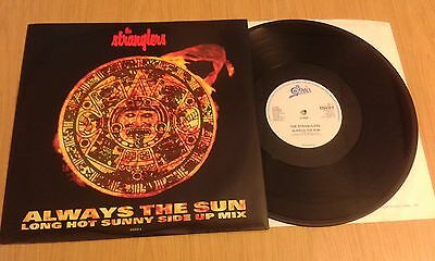 "The Stranglers Always the Sun 12"" vinyl single (1990 Remix)"