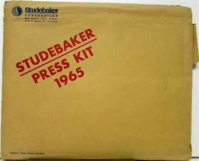 1965 Studebaker Press Kit Daytona Wagonaire Cruiser Photos Specs Original