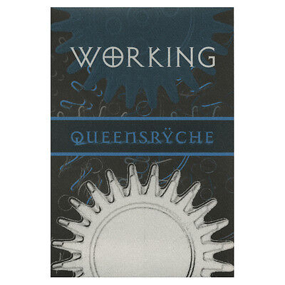 Queensryche authentic Working 2000's tour Backstage Pass