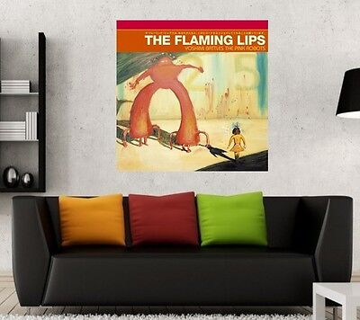 The Flaming Lips - Yoshimi Battles the Pink Robots - 24x24 Fathead Poster