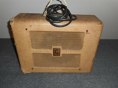 Vintage Gibson Br 9 Amplifier, Sounds Great!