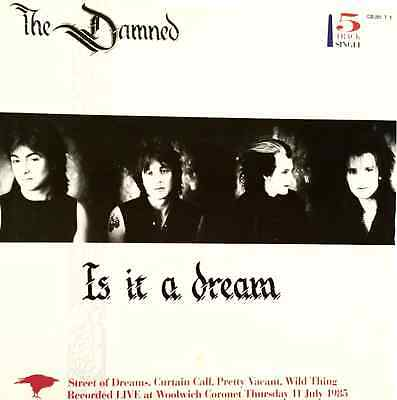 "THE DAMNED -  Is It A Dream (12"") (VG/VG)"