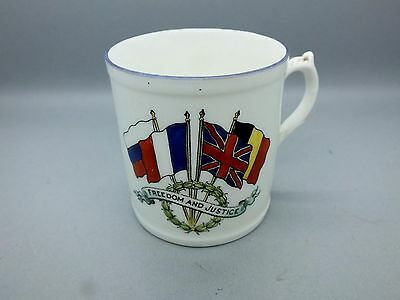 Very Rare WW1 Patriotic Propaganda Mug for the Support of The Great  War 1914