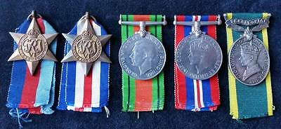 WW2 British Campaign Group of 4, & Territorial Efficency Medal