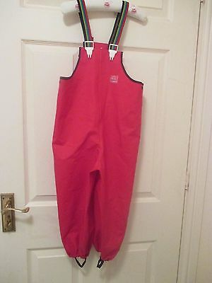 TELLS  waterproof dungarees.Height 110cm.Hardly used.Bargain!