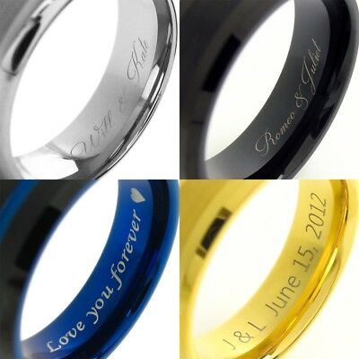 Laser Engraving Charge for Inside of Tungsten Ring