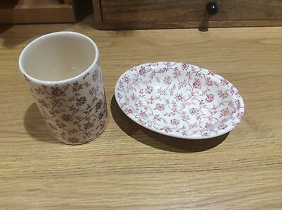 crabtree and evelyn soap dish and beaker