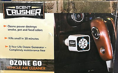New Scent Crusher Ozone Go Vehicle Air Cleaner 59902