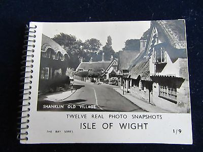 12 SNAPSHOTS OF THE ISLE OF WHITE FROM 1940's £2