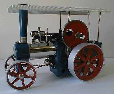 Wilesco D405 TOY STEAM ENGINE TRACTOR NEW + S&H FREE - MADE IN GERMANY