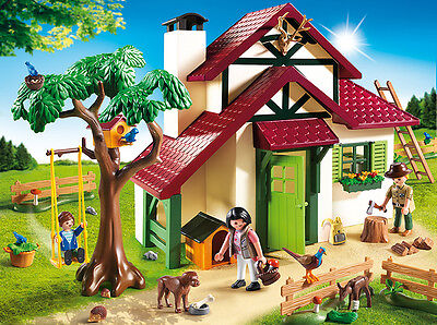 PLAYMOBIL® 6811 Foresters House - NEW 2015 - S&H FREE WORLDWIDE