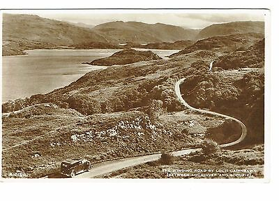 Lochinver Winding Road Rp 1950's Publisher White