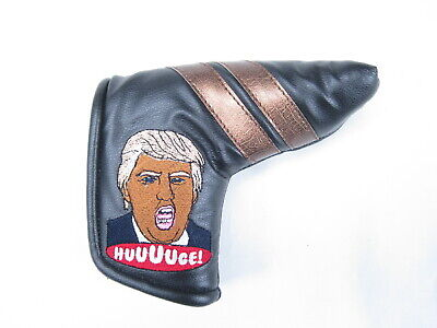 Sunfish leather blade putter golf headcover - TRUMP