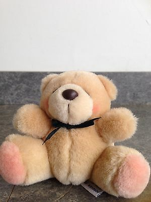 Forever Friends Soft Toy With Black Ribbon Round His Neck